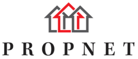 Propnet, Estate Agency Logo